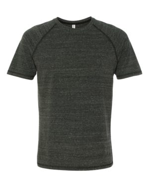All Sport M1101 Charcoal Heather Triblend