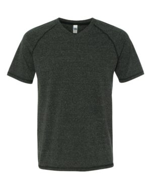 All Sport M1105 Charcoal Heather Triblend