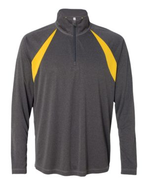 All Sport M3026 Dark Grey Heather/ Sport Athletic Gold
