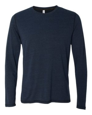 All Sport M3102 Navy Heather Triblend