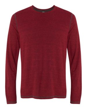 All Sport M3102 Red Heather Triblend