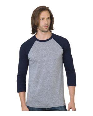 Bayside 9525 Athletic Grey/ Navy