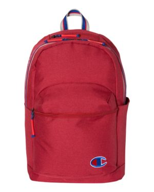 Champion CS1002 Heather Bright Red Scarlet