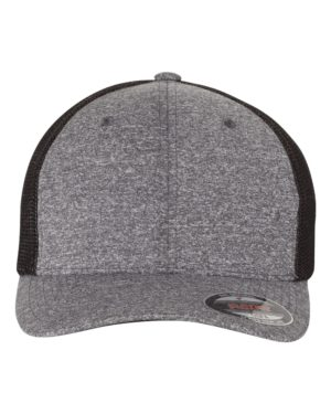 Flexfit 6311 Dark Heather Grey/ Black
