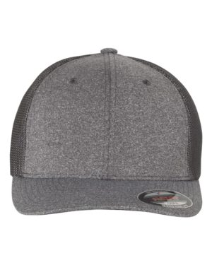 Flexfit 6311 Dark Heather Grey/ Charcoal