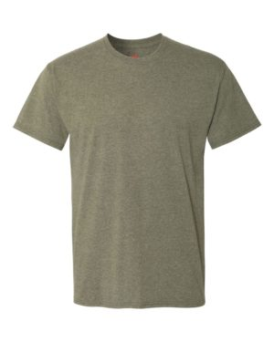 Hanes 42TB Military Green Triblend