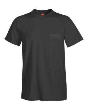Hanes 498P Charcoal Heather