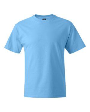 Hanes 5180 Aquatic Blue