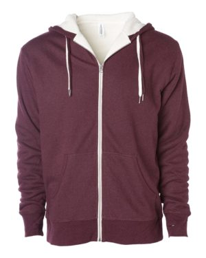 Independent Trading Co. EXP90SHZ Burgundy Heather