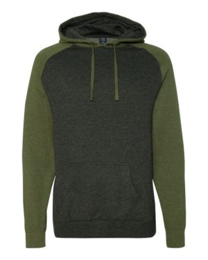 Independent Trading Co. IND40RP Charcoal Heather/ Army Heather
