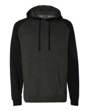 Independent Trading Co. IND40RP Charcoal Heather/ Black