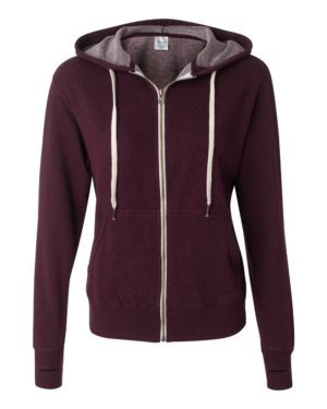 Independent Trading Co. PRM90HTZ Burgundy Heather