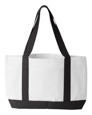 Liberty Bags 7002 White/ Black