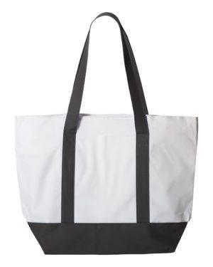 Liberty Bags 7006 White/ Black