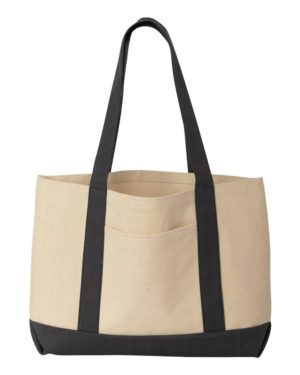 Liberty Bags 8869 Natural/ Black