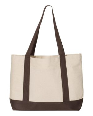 Liberty Bags 8869 Natural/ Brown