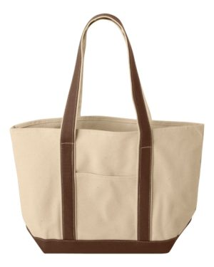 Liberty Bags 8871 Natural/ Brown