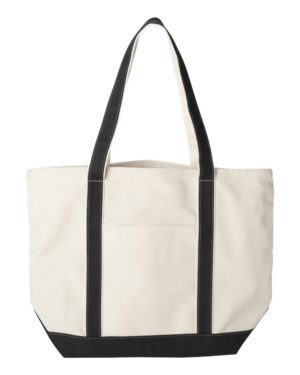 Liberty Bags 8872 Natural/ Black
