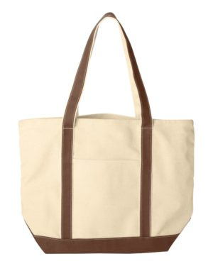 Liberty Bags 8872 Natural/ Brown