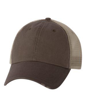 Mega Cap 6887 Brown/ Khaki