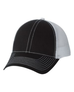 Mega Cap 7641 Black/ White