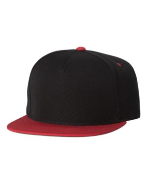 Yupoong 5089M Black/ Red