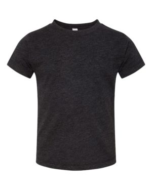 Bella + Canvas 3413T Charcoal-Black Triblend