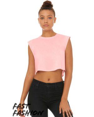 Bella + Canvas 8483 Pink Triblend