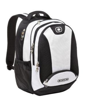 OGIO® 411064 White/Black/Silver