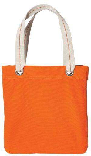 Port Authority® B118 Bright Orange/ Chocolate