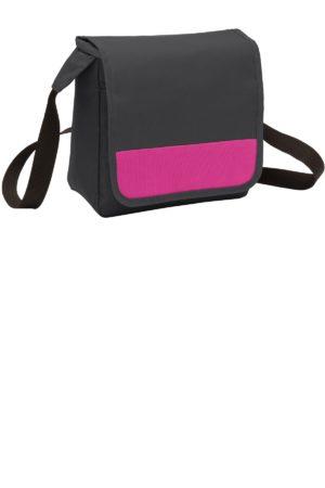 Port Authority® BG753 Dark Charcoal/ Tropical Pink