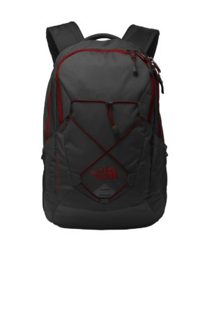 The North Face® NF0A3KX6 TNF Dark Grey Heather/ Cardinal Red
