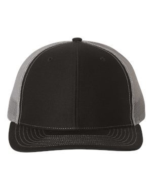Richardson 112 Black/ Charcoal