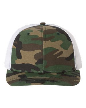 Richardson 112P Army Camo/ White