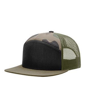 Richardson 168 Black/ Camo/ Loden