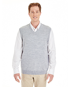 Harriton M415 GREY HEATHER
