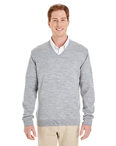 Harriton M420 GREY HEATHER