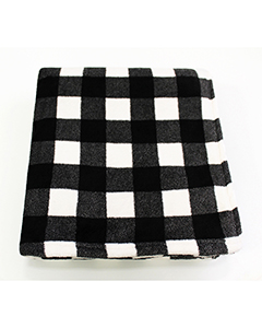 Pro Towels CBN6070 BLK/ WHT BFL CHK