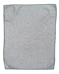 Pro Towels MW18 GRAY/ BLACK