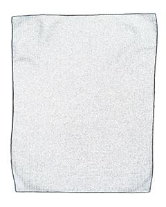 Pro Towels MW18 WHITE/ BLACK