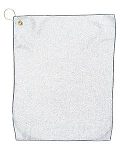 Pro Towels MW18CG WHITE/ BLACK