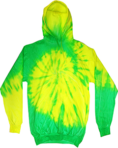 Tie-Dye CD8700 FLO YELLOW/ LIME