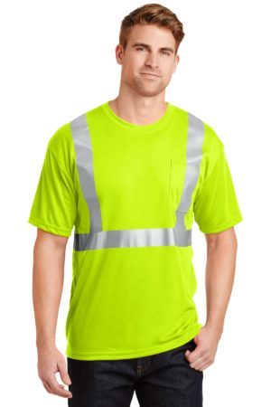 CornerStone CS401 Safety Yellow/ Reflective