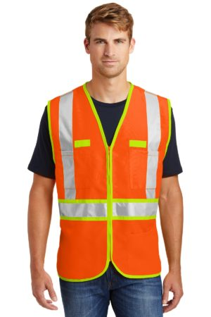 CornerStone CSV407 Safety Orange/ Safety Yellow