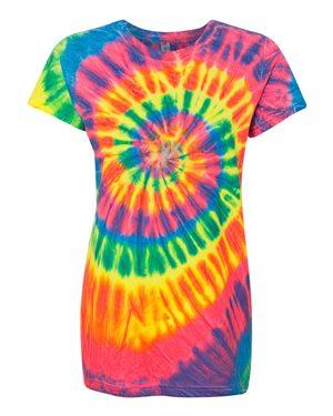 Dyenomite 150MS Fluorescent Rainbow Spiral