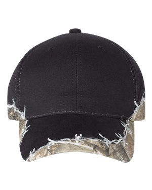 Outdoor Cap BRB605 Black/ Realtree Edge