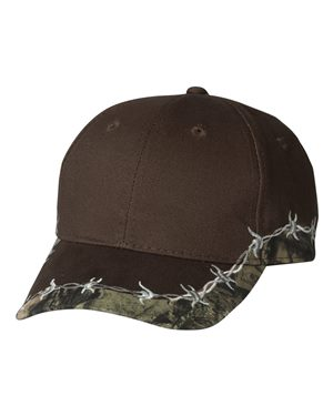 Outdoor Cap BRB605 Brown/ Mossy Oak Country