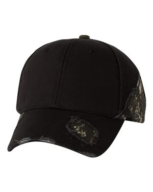 Outdoor Cap BSH350 Black/ Mossy Oak Breakup