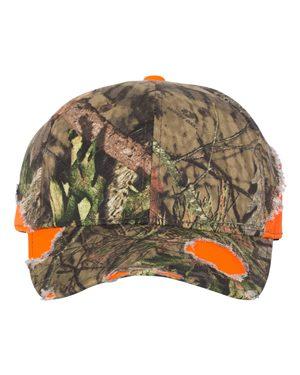 Outdoor Cap BSH600 Blaze/ Mossy Oak Country