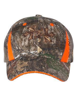 Outdoor Cap CBI305 Blaze/ Realtree Edge